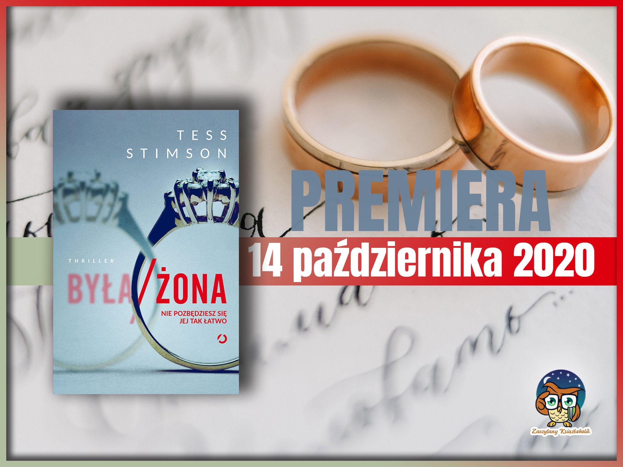 Była żona, Tess Stimson, zaczytanyksiazkoholik.pl