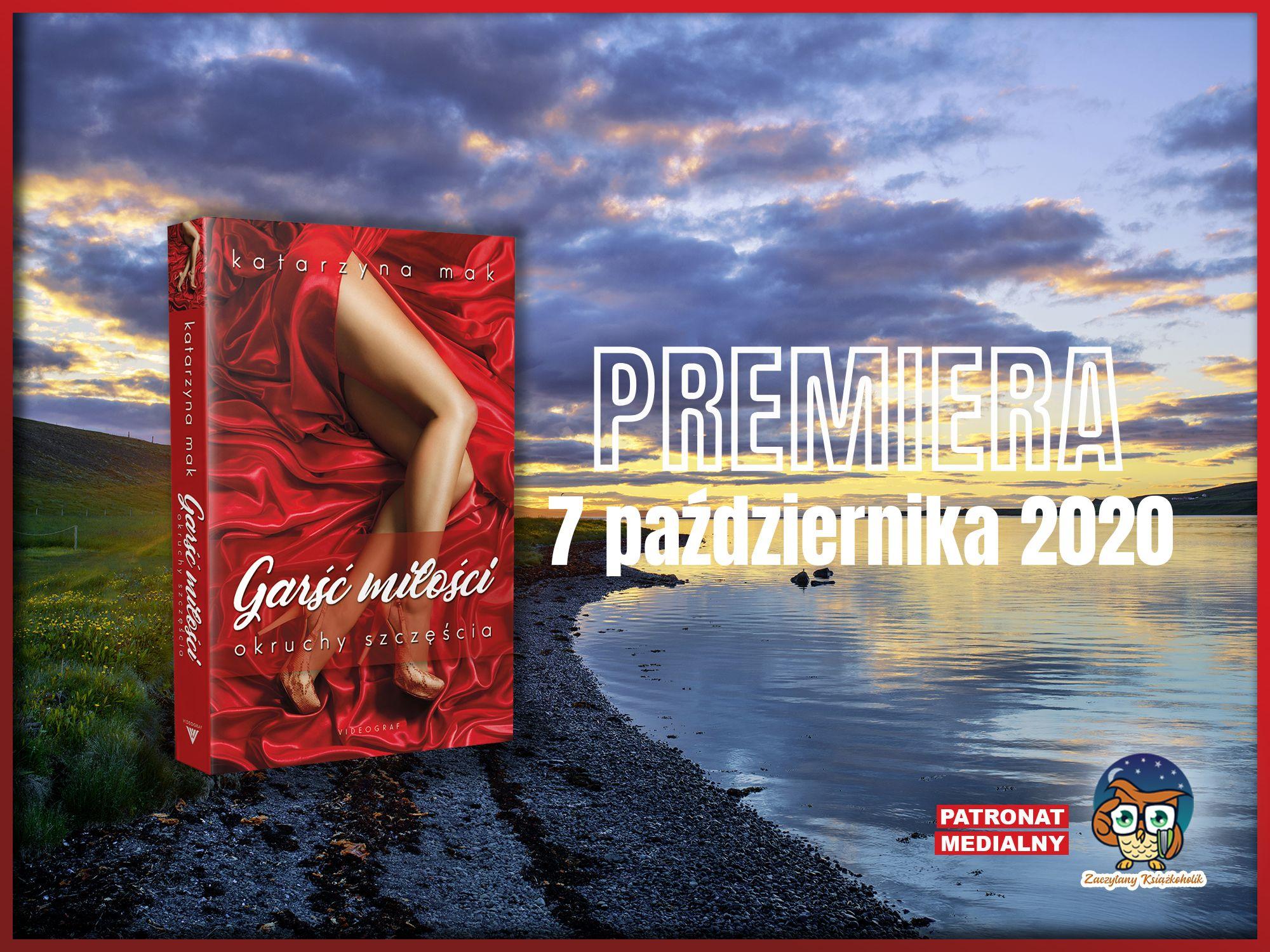 Garść miłości, Katarzyna Mak, zaczytanyksiazkoholik.pl