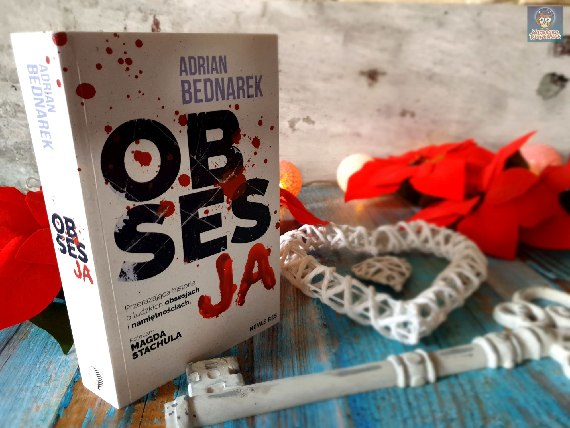 Obsesja, Adrian Bednarek, zaczytanyksiazkoholik.pl