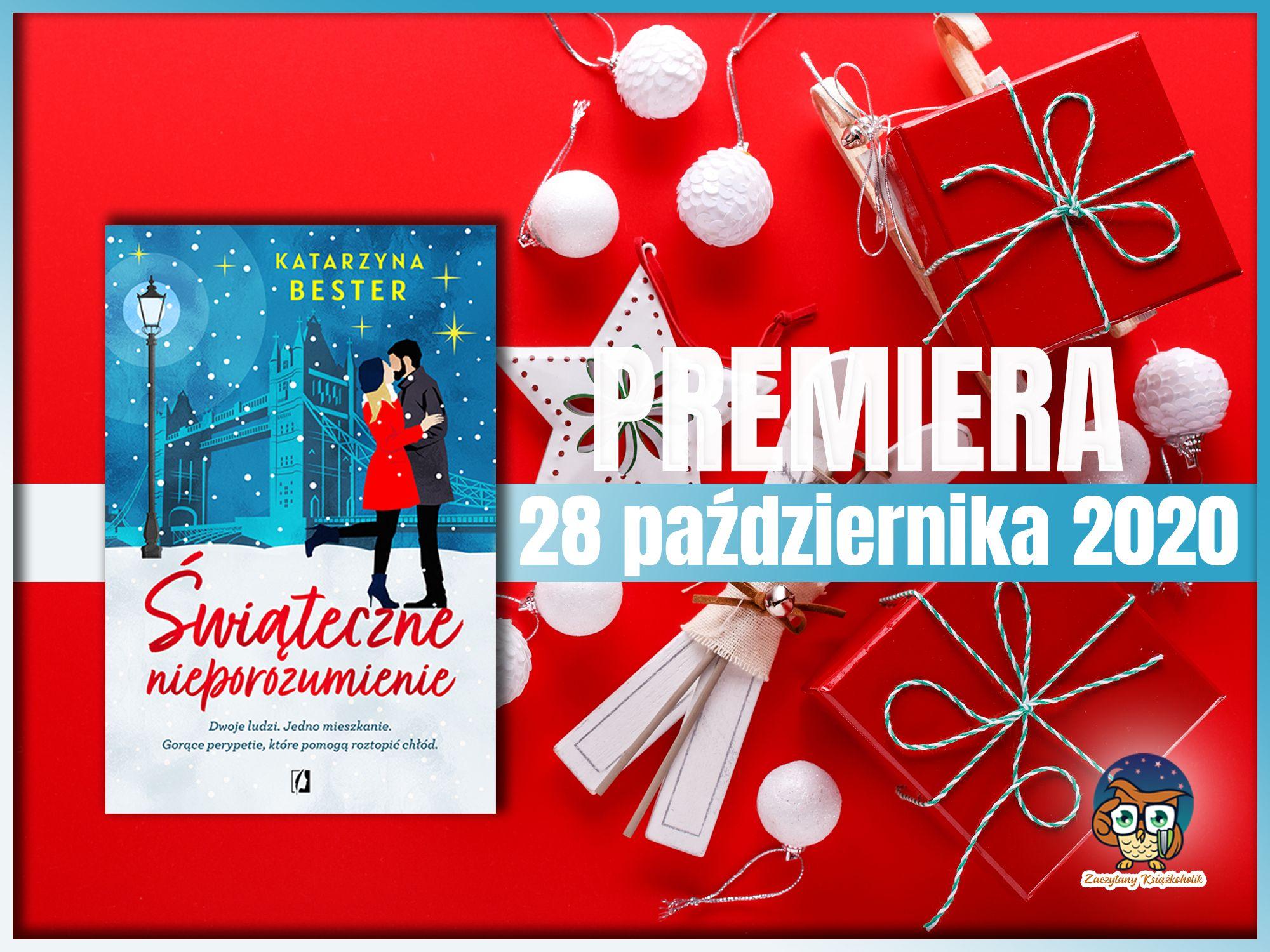 Świąteczne nieporozumienie, Katarzyna Bester, zaczytanyksiazkoholik.pl
