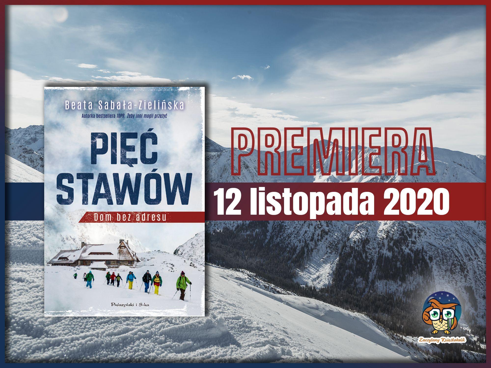 Pięć Stawów. Dom bez adresu, Beata Sabała-Zielińska, zaczytanyksiazkohlik.pl