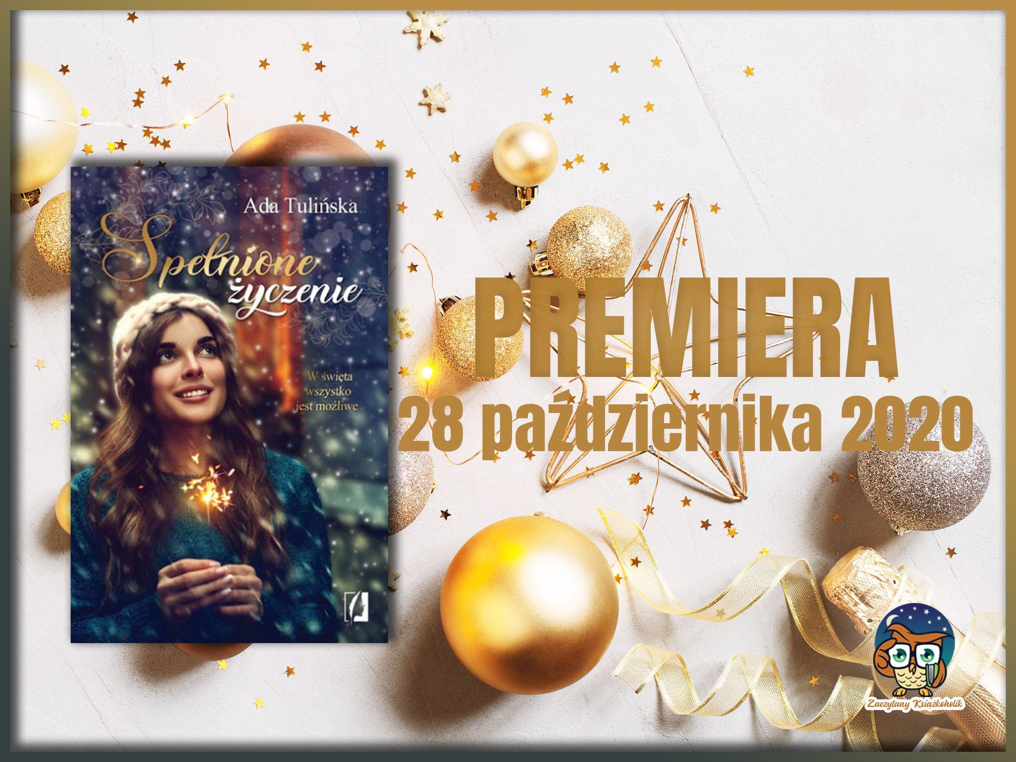 Spłenione życzenie, Ada Tulińka, zaczytanyksiazkoholik.pl