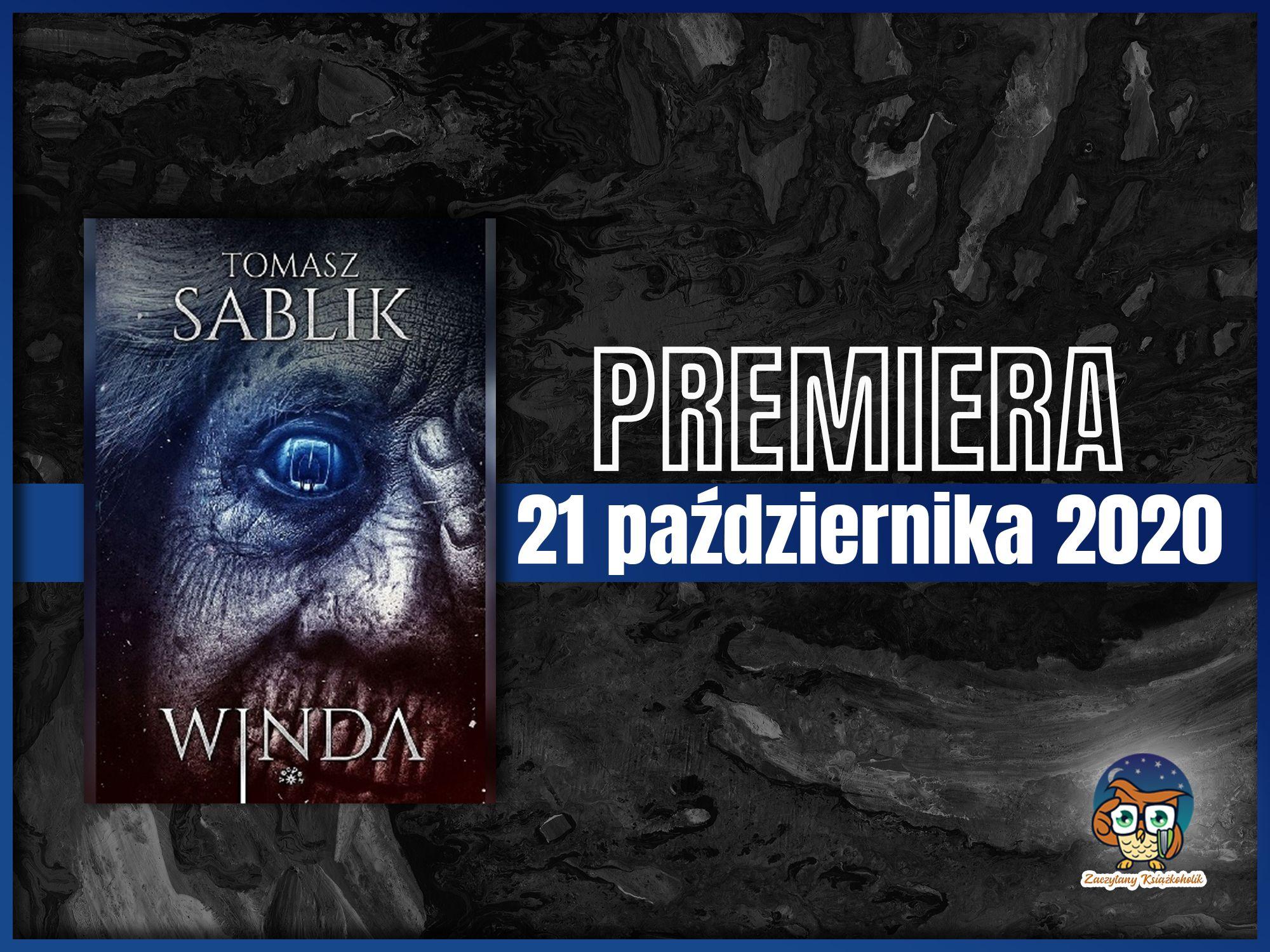 """Tomasz Sablik, """"Winda"""", zaczytanyksiazkoholikPL"""