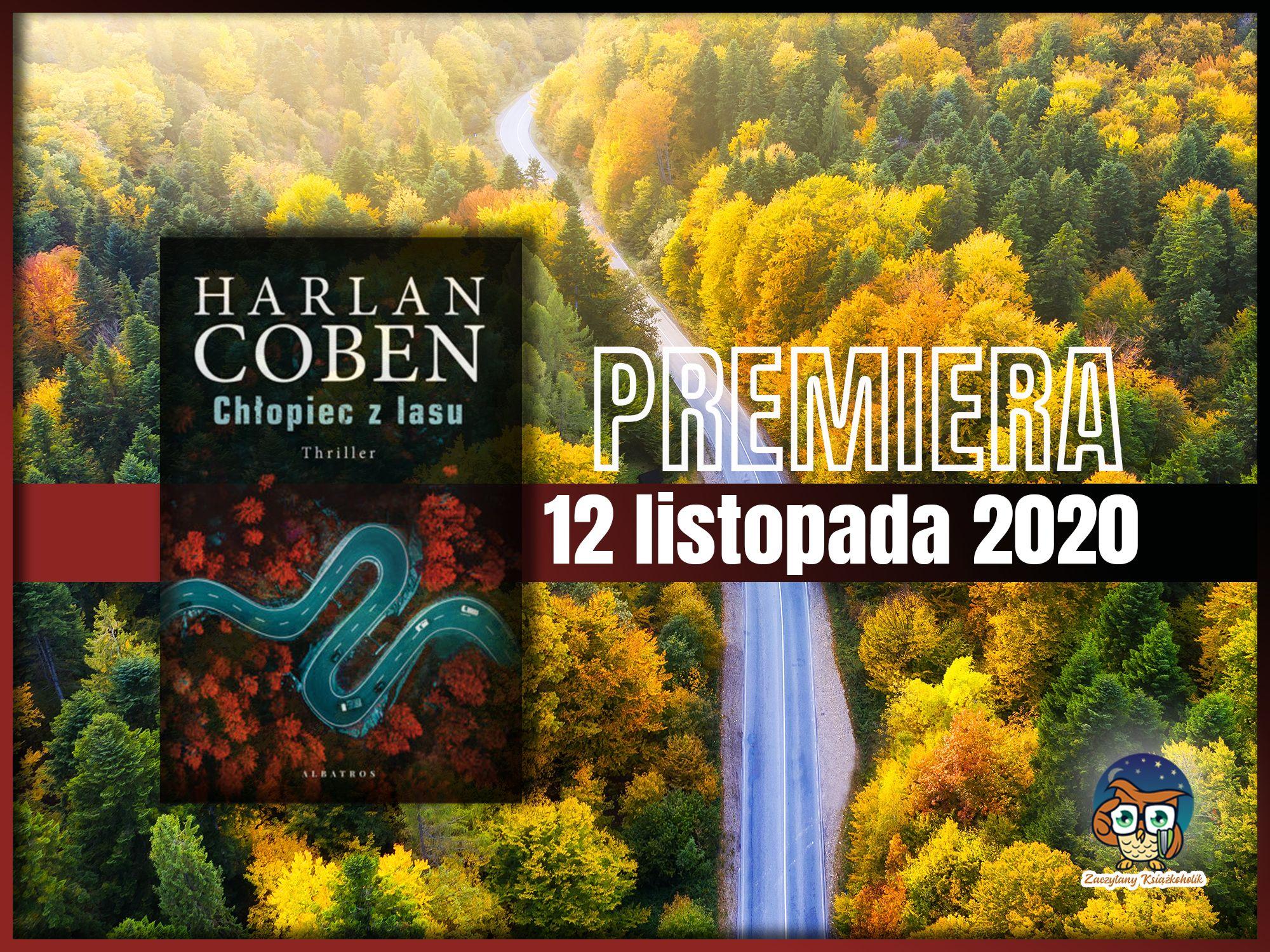 Chłopiec z lasu, Harlan Coben, zaczytanyksiazkoholik.pl