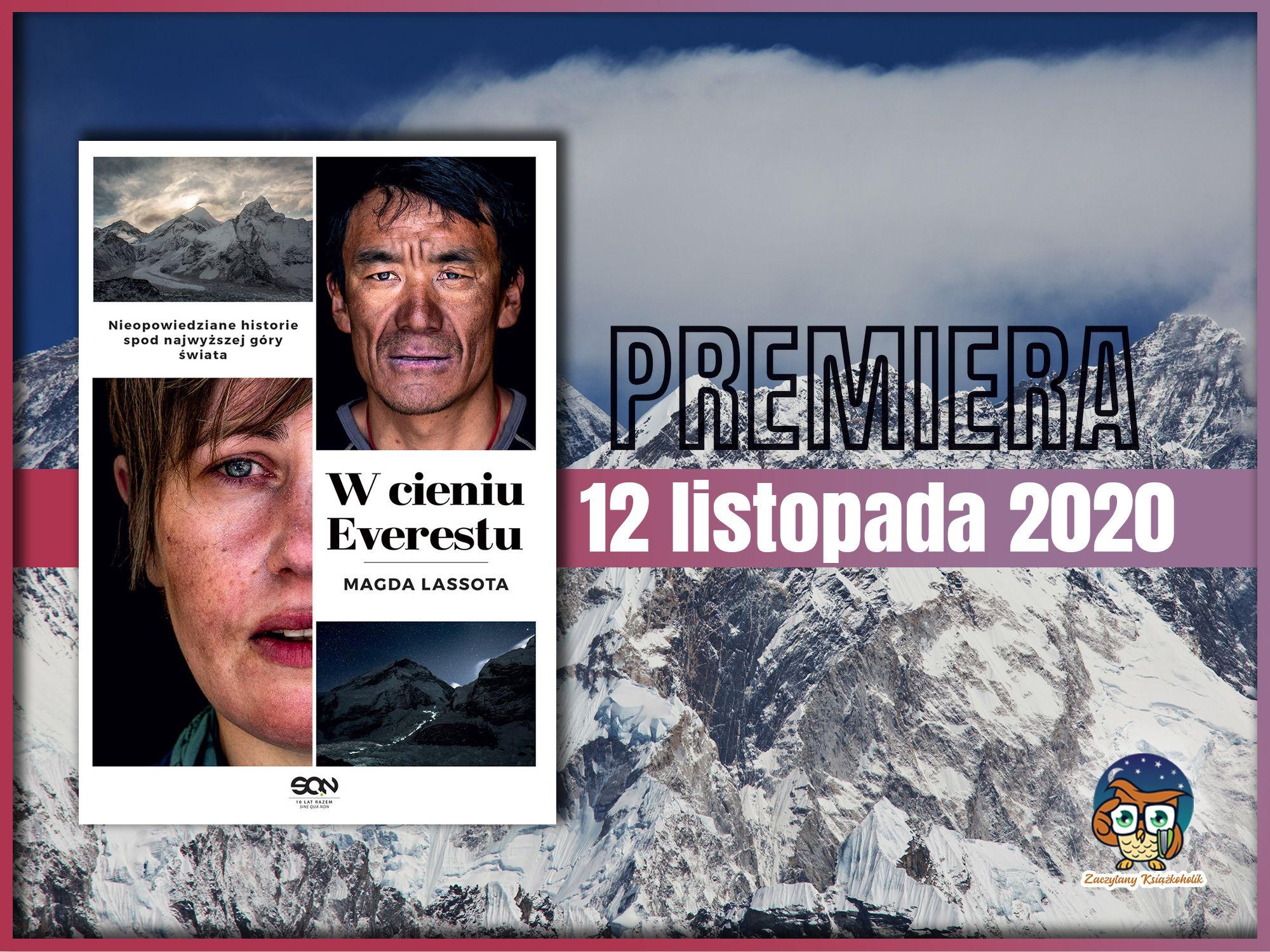 W cieniu Everestu, Magda lasota, zaczytanyksiazkoholik.pl