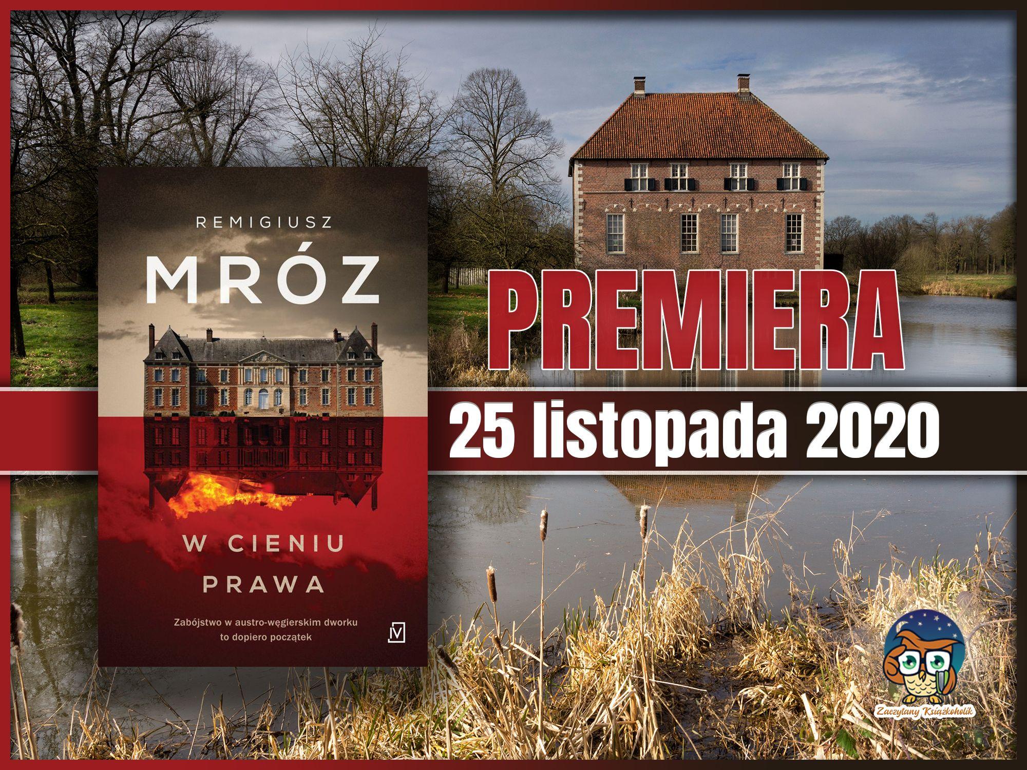 W cieniu prawa, Remigiusz Mróz, zaczytanyksiazkoholik.pl