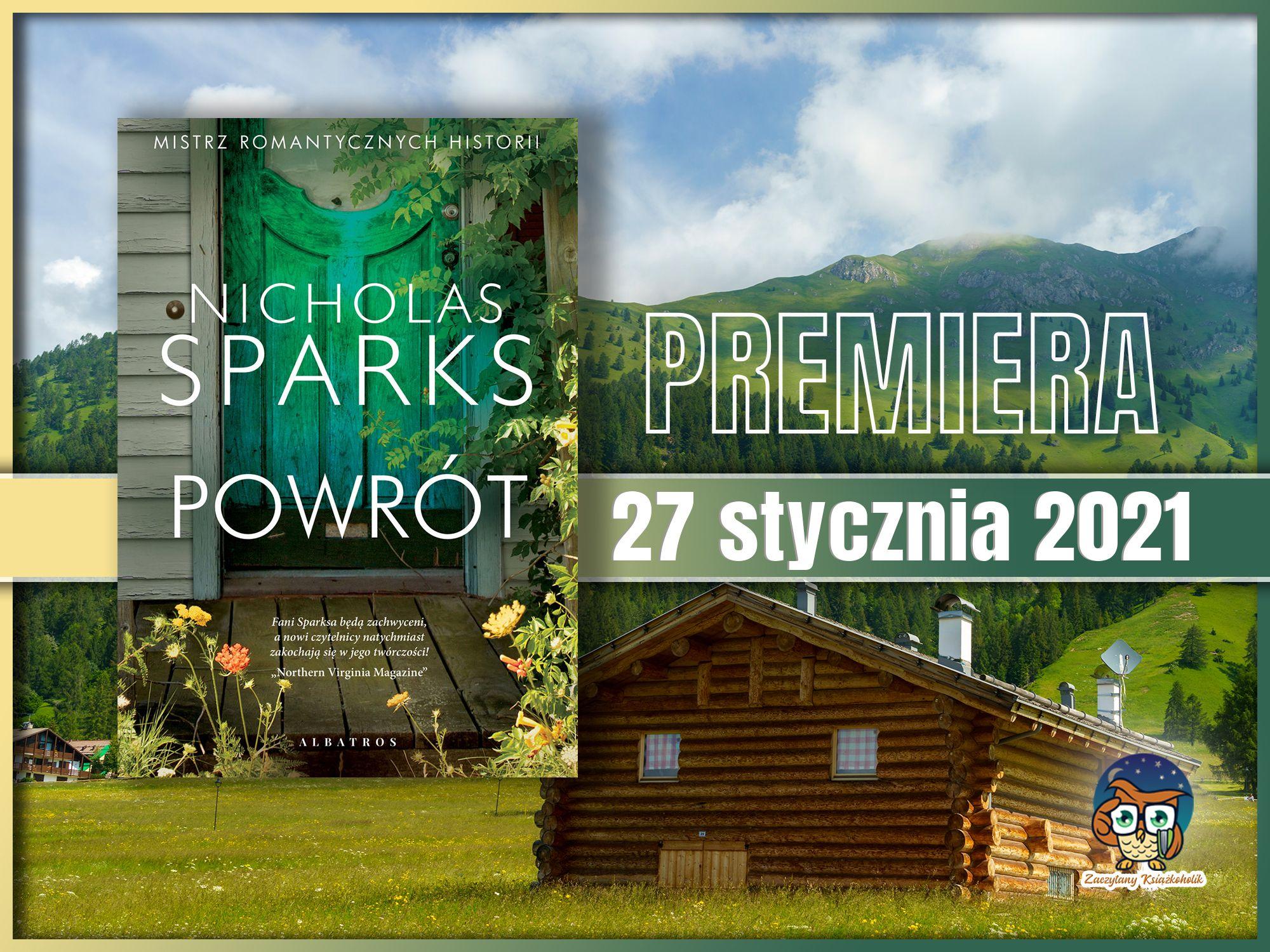 Powrót, Nicholas Sparks, zaczytanyksiazkoholik.pl