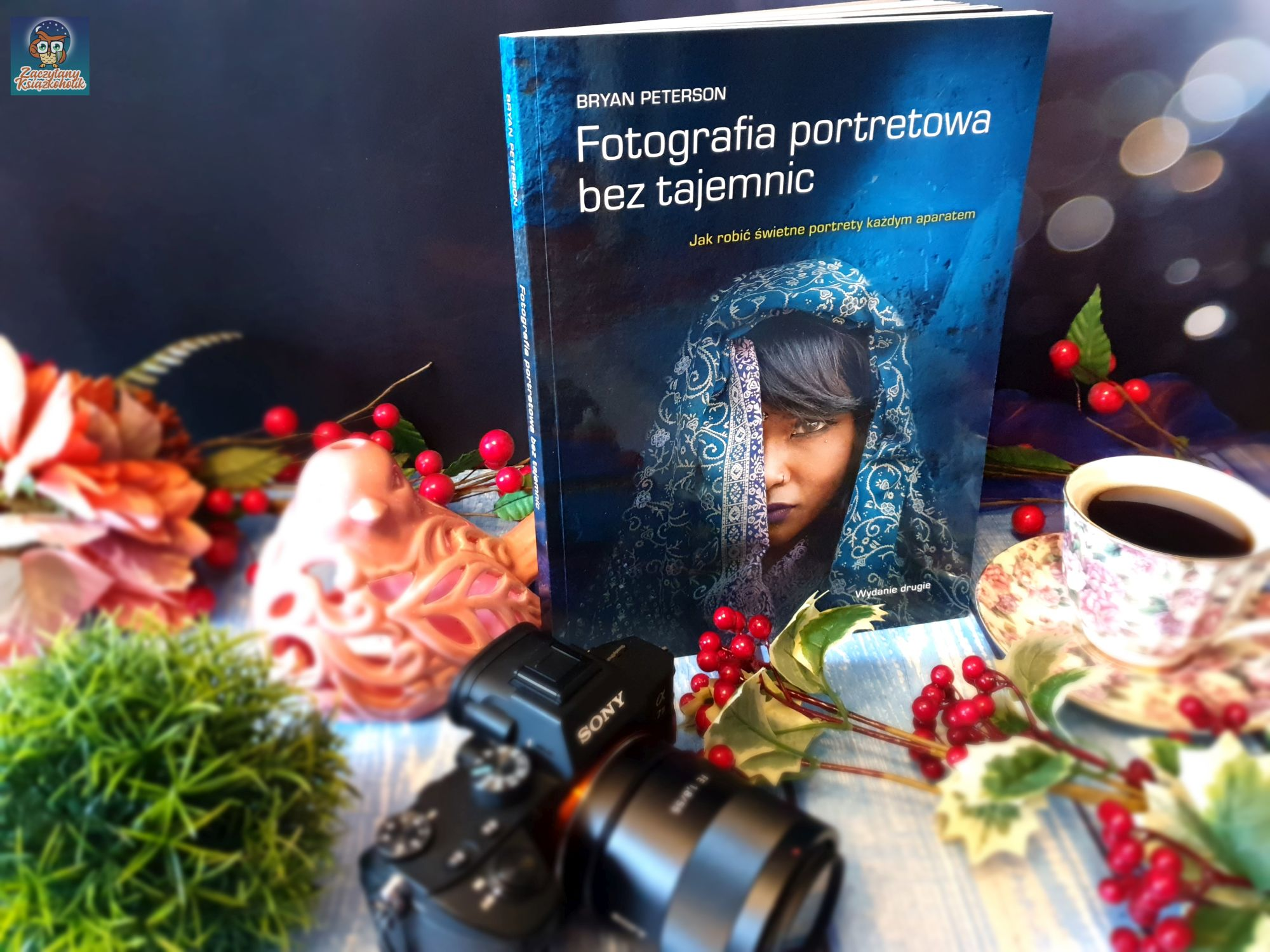 Fotografia portretowa bez tajemnic, Bryan Peterson, zaczytanyksiazkoholik.pl