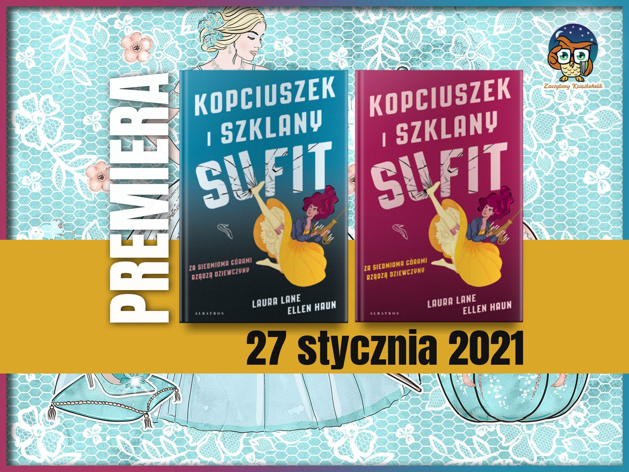 Laura Lane, Ellen Haun, Kopciuszek i szklany sufit, zaczytanyksiazkoholik.pl