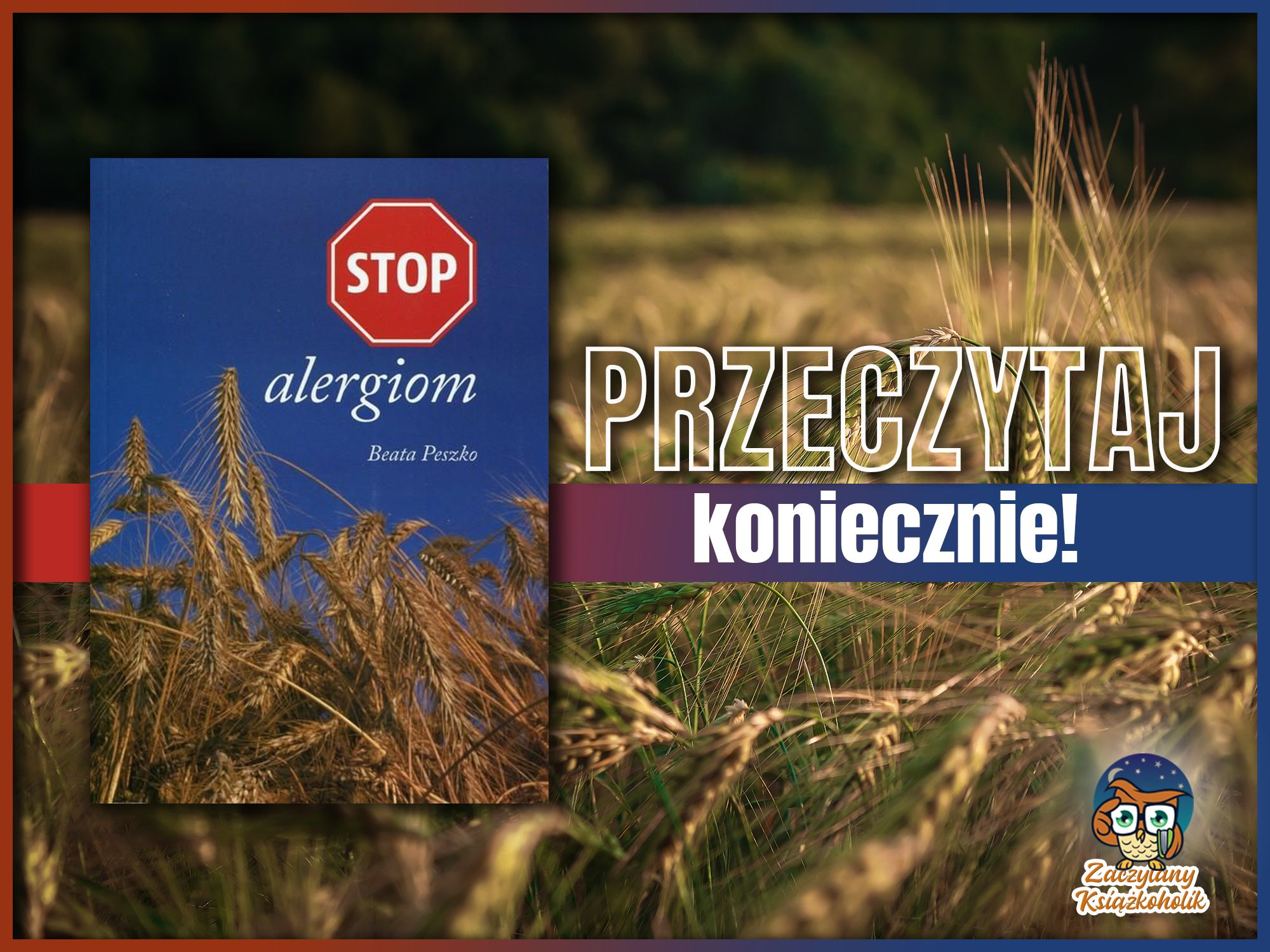 Stop alergiom, Beata Peszko, zaczytanyksiazkoholik.pl