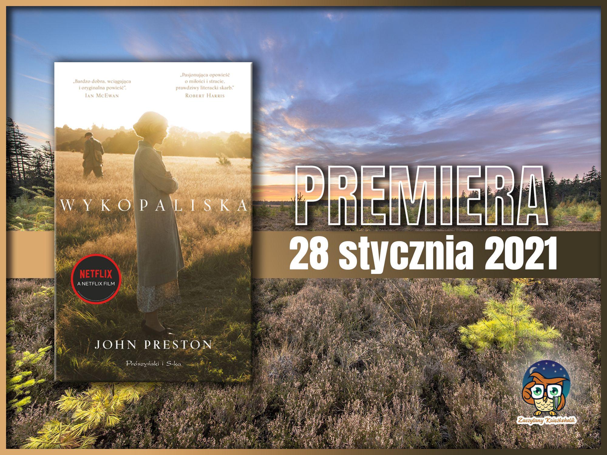 """John Preston, """"Wykopaliska"""", zaczytanyksiazkoholik.pl"""