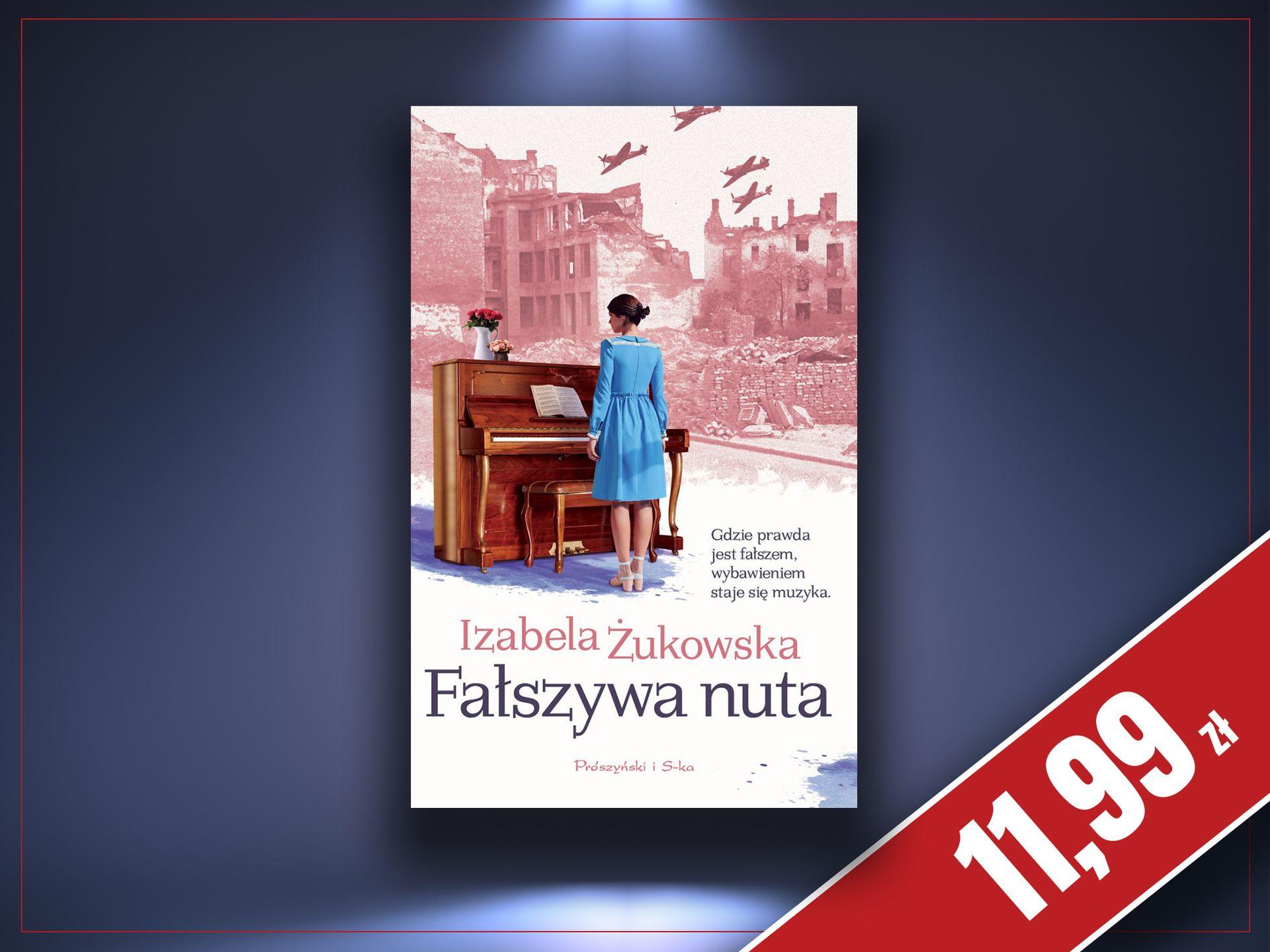 Fałszywa nuta - Izabela Żukowska, zaczytanyksiazkoholik.pl