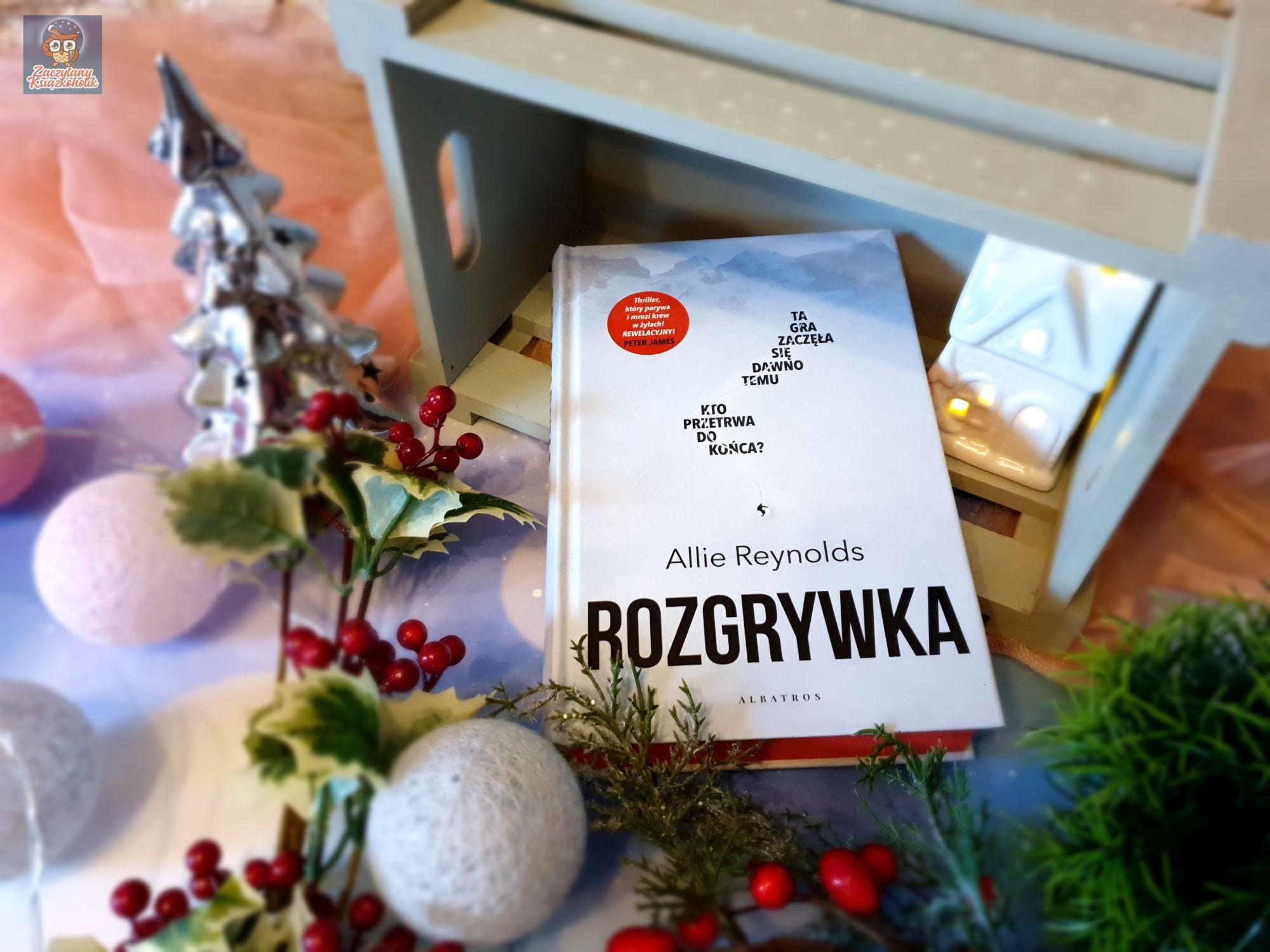 Rozgrywka, Allie Reynolds, zaczytanyksiazkoholik.pl