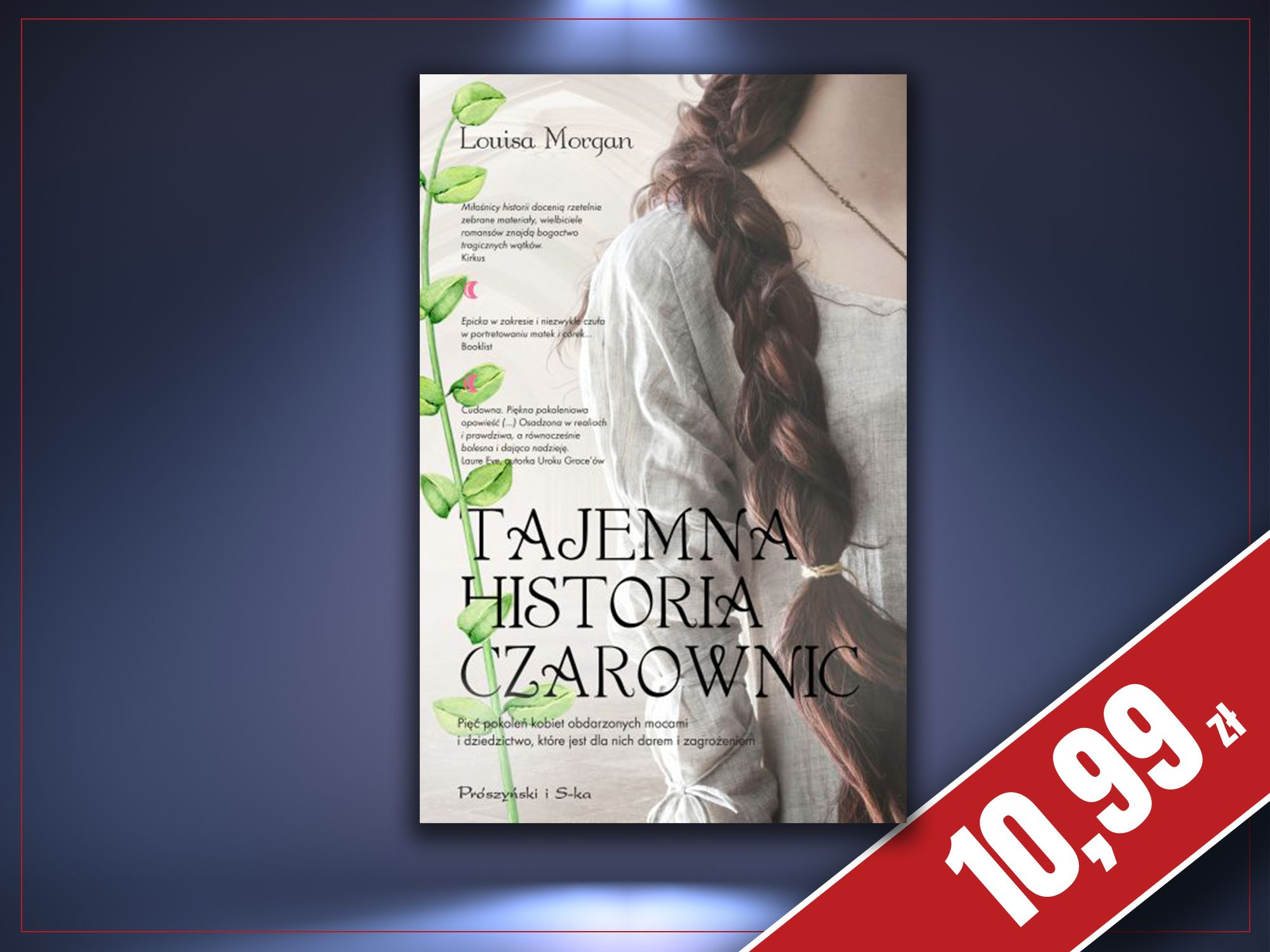 Tajemna historia czarownic, Louisa Morgan