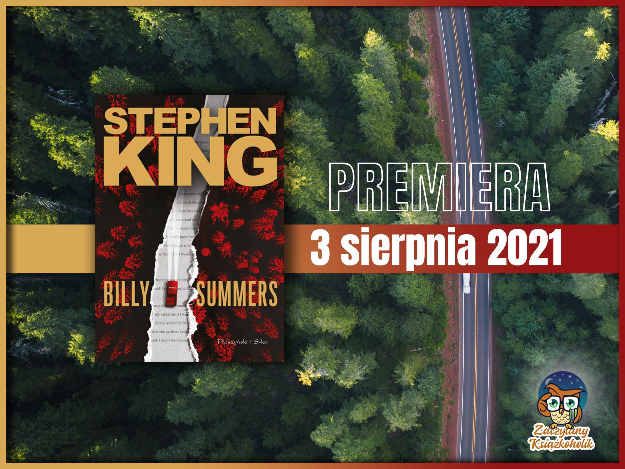 Billy Summers, Stephen King, zaczytanyksiazkoholik.pl