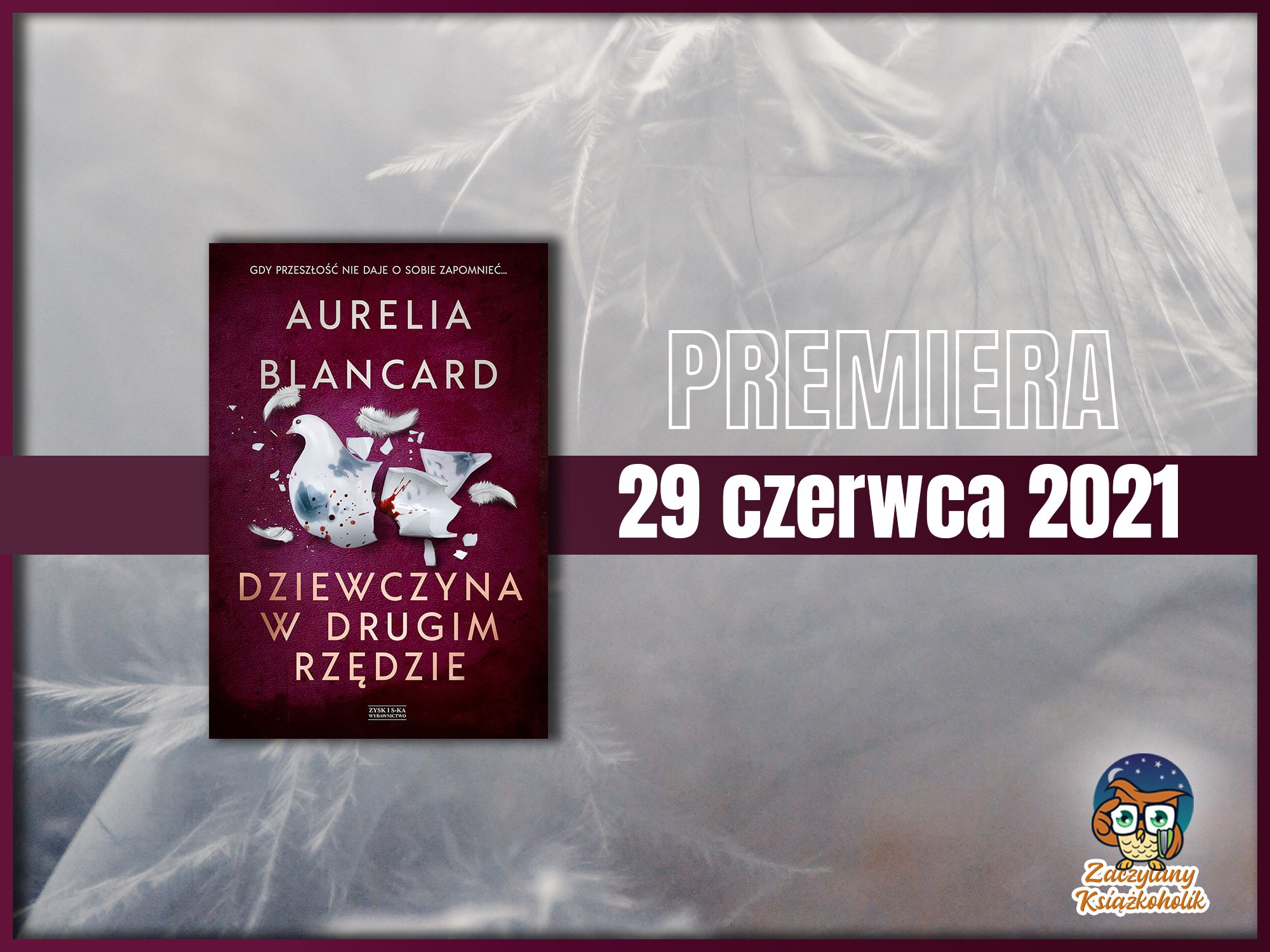 Dziewczyna w drugim rzędzie, Aurelia Blancard, zaczytanyksiazkoholik.pl