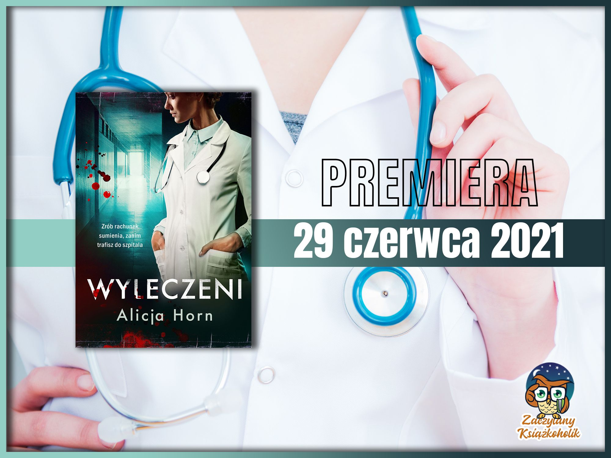 Wyleczeni, Alicja Horn, zaczytanyksiazkoholik.pl