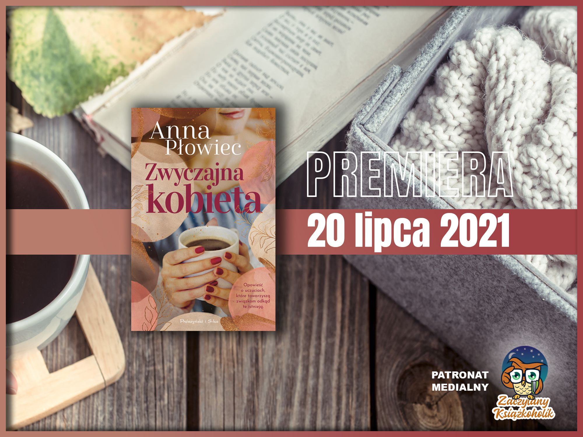 Zwyczajna kobieta, Anna Płowiec, zaczytanyksiazkoholik.pl