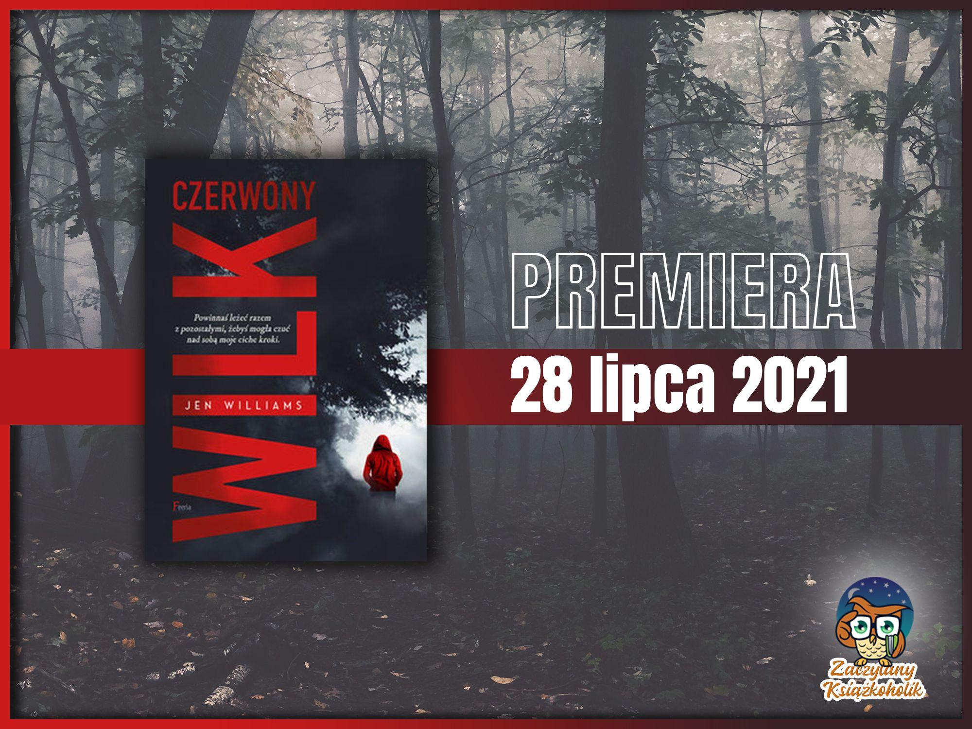 Czerwony wilk, Jen Williams, zaczytanyksiazkoholik.pl