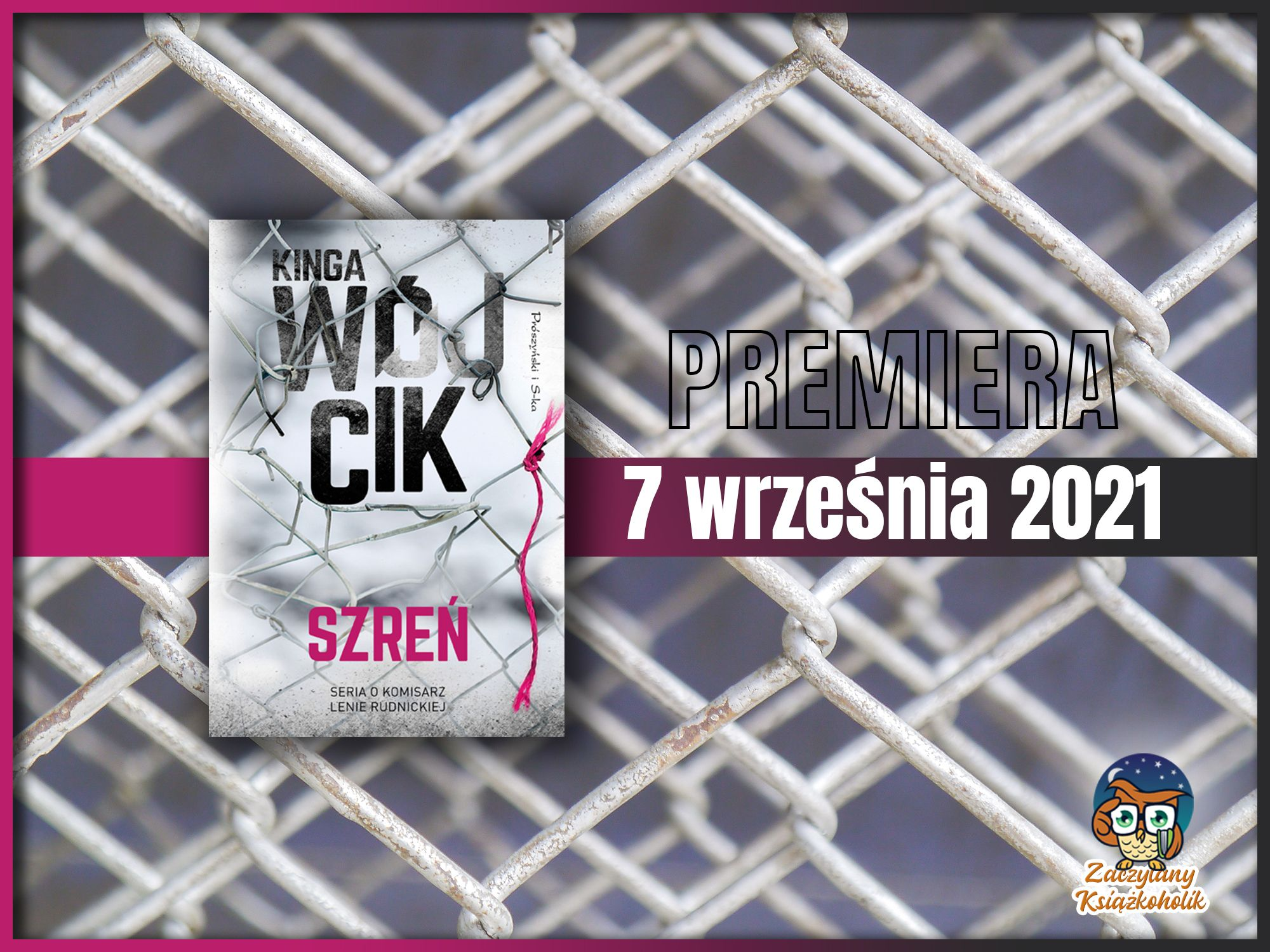 "Komisarz Lena Rudnicka - ""Szreń"" autorstwa Kingi Wójcik"