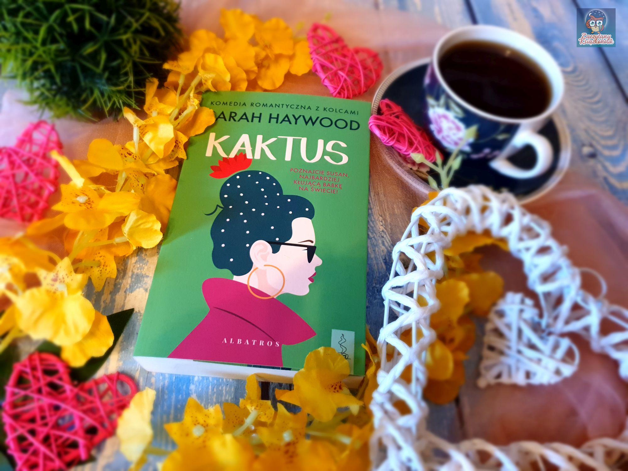 Kaktus, Sarah Haywood, zaczytanyksiazkoholik.pl