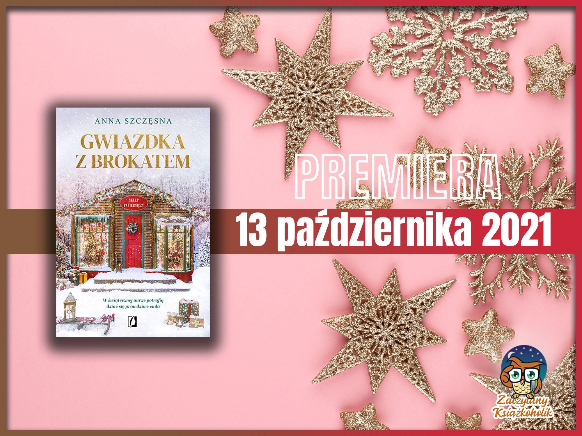 Gwiazdka z brokatem, Anna Szczęsna, zaczytanyksiazkoholik.pl