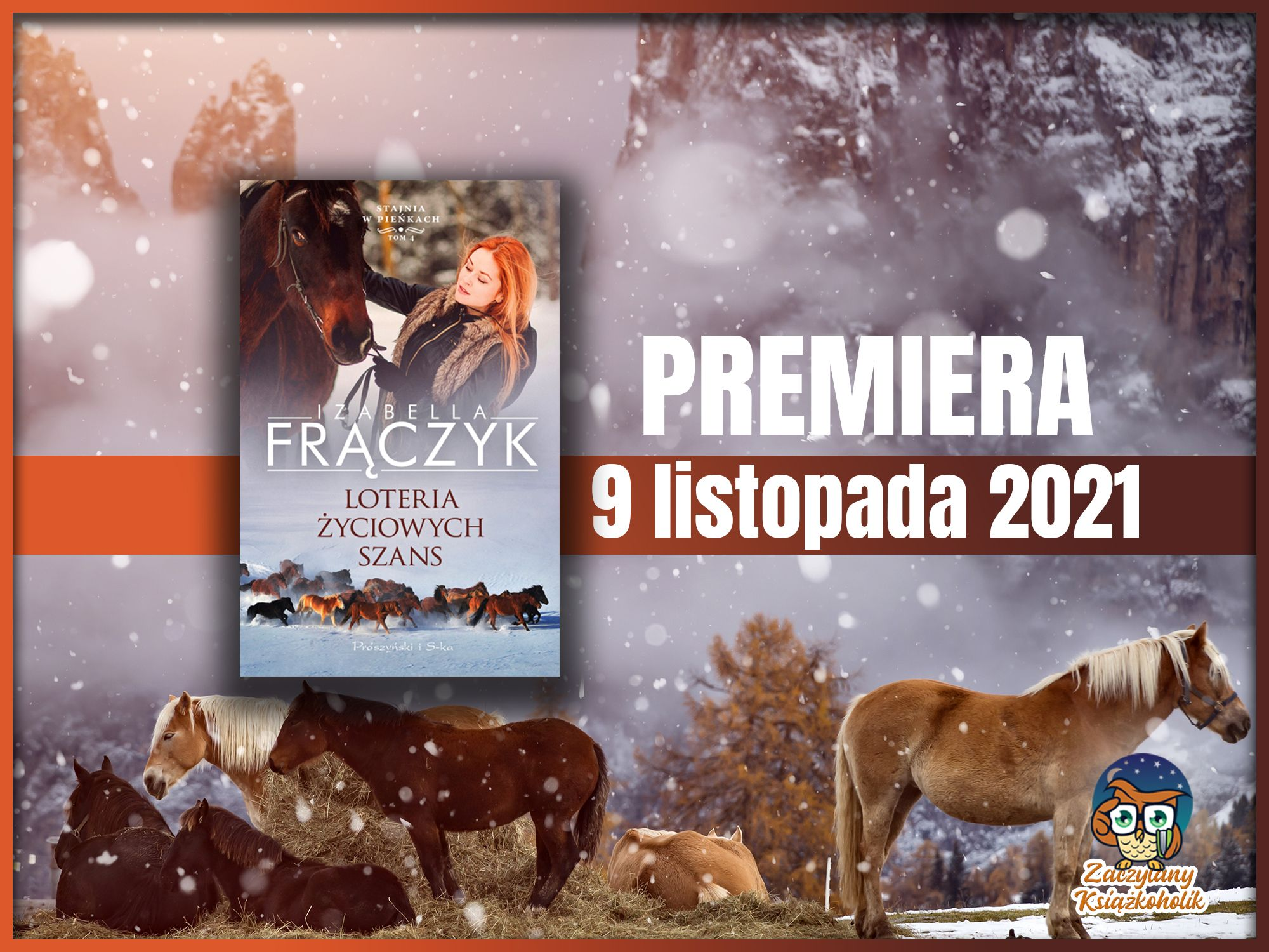 Loteria życiowych szans, Izabella Frączyk, zaczytanyksiazkoholik.pl